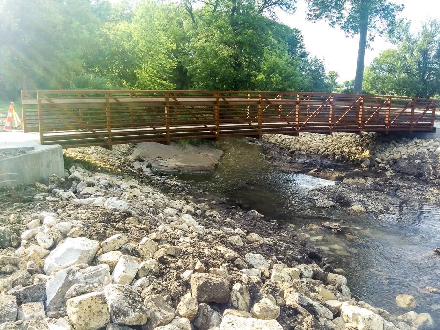 Shoemaker Haaland Engineering Iowa Structural Bridges Donnelly Park Bridge
